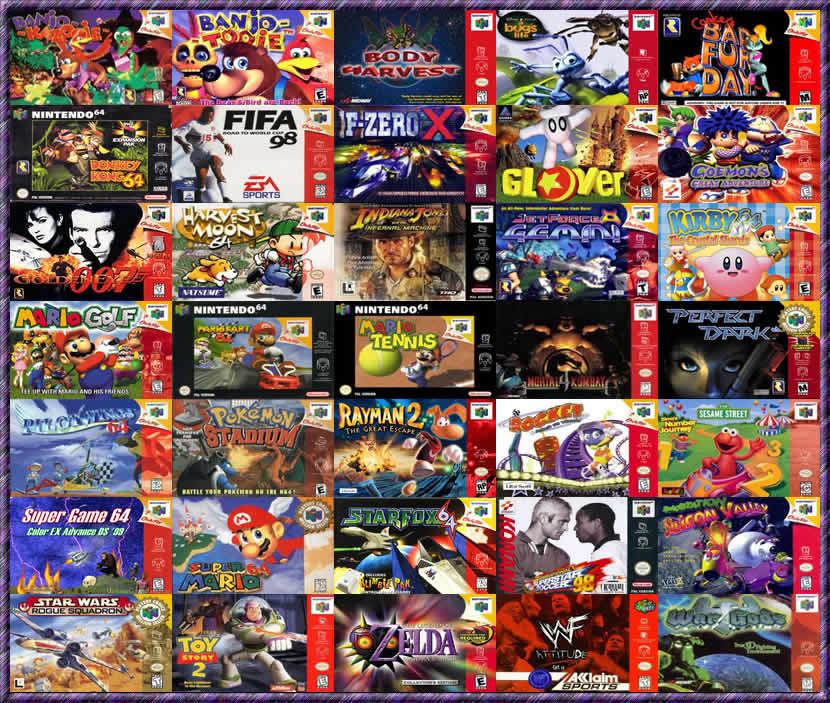 descargar juegos de nintendo 64 gratis